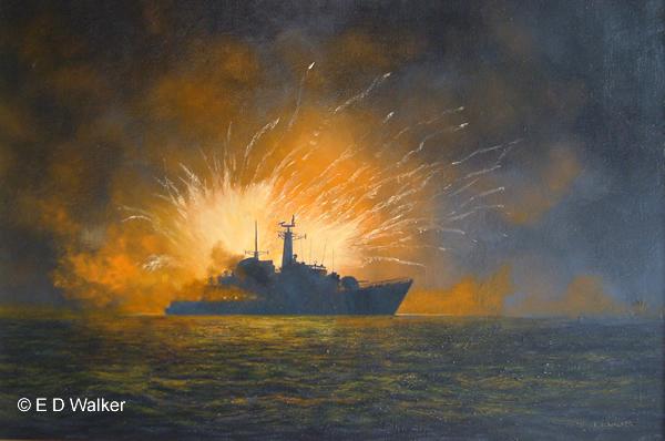 56f612b7 Marine Artist, Historic Ship Paintings - Edward D Walker